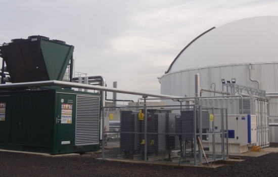 Large white AD plant with CHP