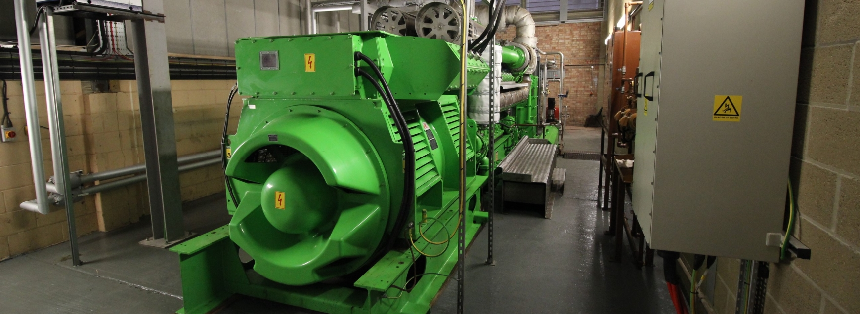 Green CHP engine