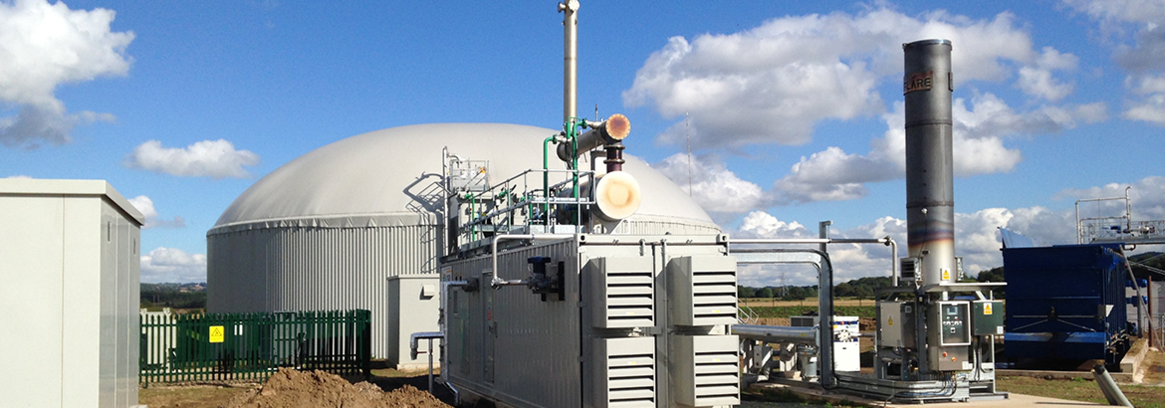 Energy generation installation at NFU Energy client site